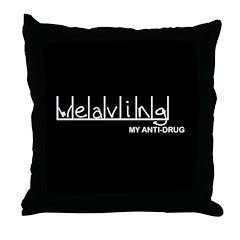 Weaving - My Anti-Drug Throw Pillow