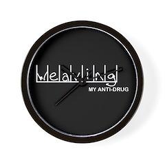 Weaving - My Anti-Drug Wall Clock