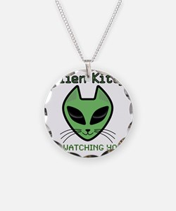 2-AlienKitty-IsWatching Necklace