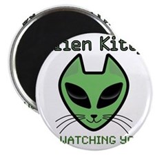 2-AlienKitty-IsWatching Magnet