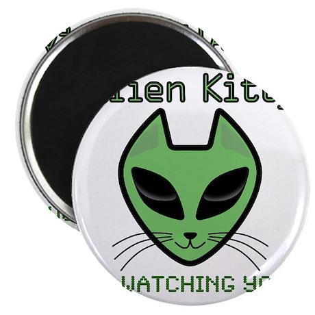 2-AlienKitty-IsWatching Magnet