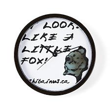 likealittlefox Wall Clock