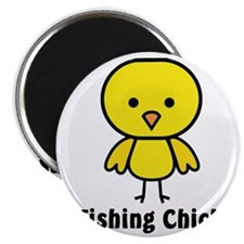 fishing chick Magnet