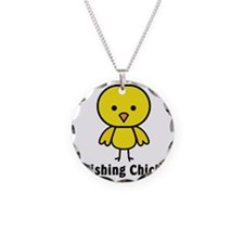 fishing chick Necklace