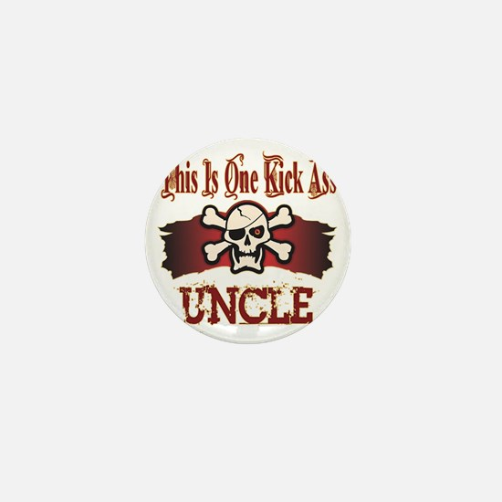Kickass Uncle copy Mini Button