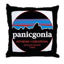 PANICGONIA Throw Pillow