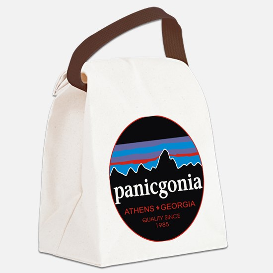 PANICGONIA Canvas Lunch Bag