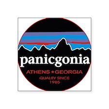 "PANICGONIA Square Sticker 3"" x 3"""