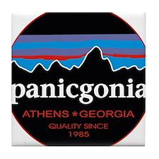 PANICGONIA Tile Coaster