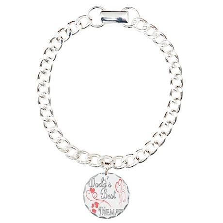 Hearts Memaw copy Charm Bracelet, One Charm
