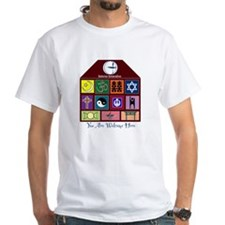 Many Rooms Unitarian Universalist shirt