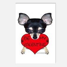 Chihuahua Valentine Postcards (Package of 8)