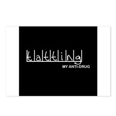 Tatting - My Anti-Drug Postcards (Package of 8)