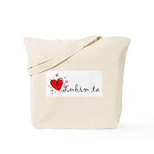 """I Love You"" [Slovak] Tote Bag"