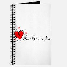 """I Love You"" [Slovak] Journal"