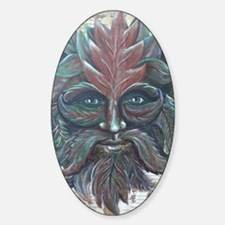 Green Man (14x18) Decal
