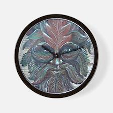 Green Man (14x18) Wall Clock