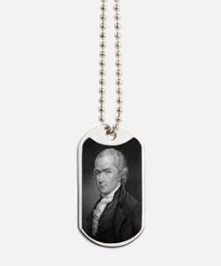 Alexander Hamilton by E Prudhomme after A Dog Tags