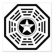 """LaFleur Square Car Magnet 3"""" x 3"""""""