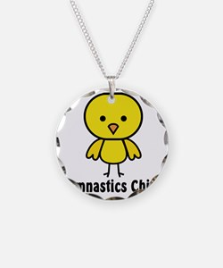 gymnastics chick Necklace