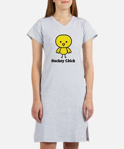 hockey chick Women's Nightshirt