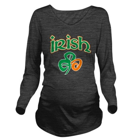 Irish Long Sleeve Maternity T-Shirt