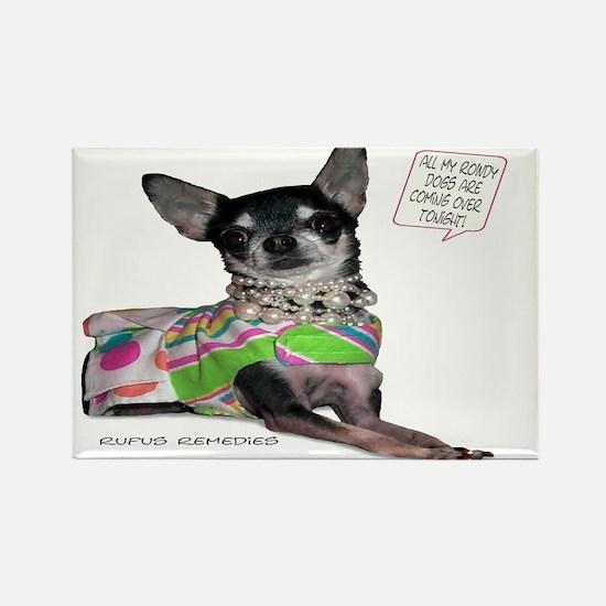 Chloe-Chihuahua Rectangle Magnet