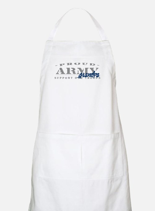 Proud Army Grandpa (blue) BBQ Apron