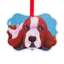 Basset4x6 Ornament