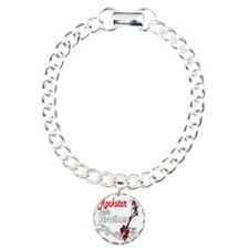 Rockstar Brother little Charm Bracelet, One Charm