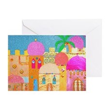 Jerusalem City of Gold Greeting Cards