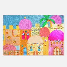 Jerusalem City of Gold Postcards (Package of 8)