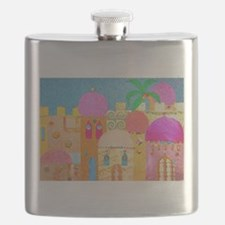 Jerusalem City of Gold Flask