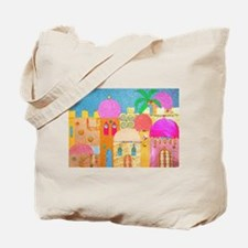 Jerusalem City of Gold Tote Bag