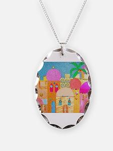 Jerusalem City of Gold Necklace