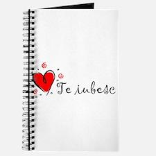 """I Love You"" [Romanian] Journal"