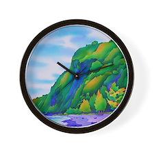 WaipiobeachMousePad Wall Clock