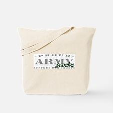 Proud Army Grandpa (green) Tote Bag