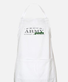 Proud Army Grandpa (green) BBQ Apron