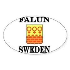 The Falun Store Oval Stickers