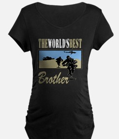 Best Military Brother copy T-Shirt