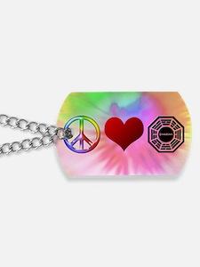 PeaceLoveDharma Dog Tags