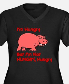 Hungry Hippo Plus Size T-Shirt