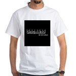 Sequins - My Anti-Drug White T-Shirt