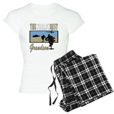 Best Military Grandson copy Pajamas