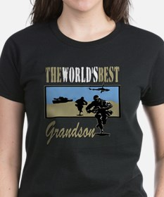 Best Military Grandson copy Tee