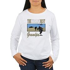 Best Military Grandpa T-Shirt