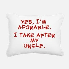 adorable-uncle Rectangular Canvas Pillow