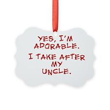 adorable-uncle Ornament