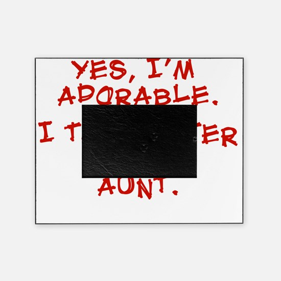 adorable-aunt Picture Frame